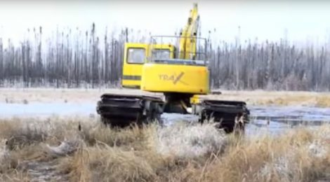 Cenovus Energy says amphibious vehicles offer game-changing way to restore land